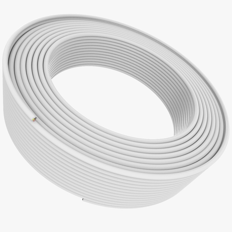 3d model cable wire