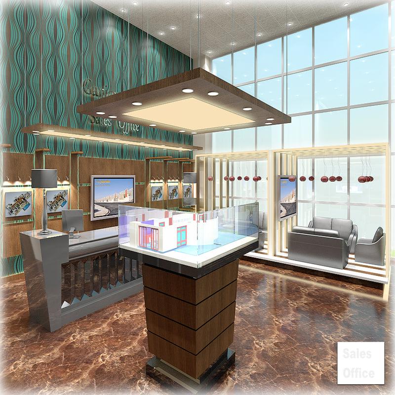 3d 3ds sales office