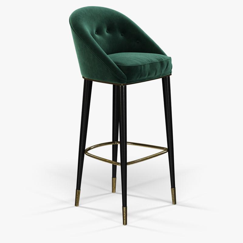 brabbu malay bar chair max