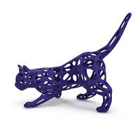 Hunting Cat 3D Printable