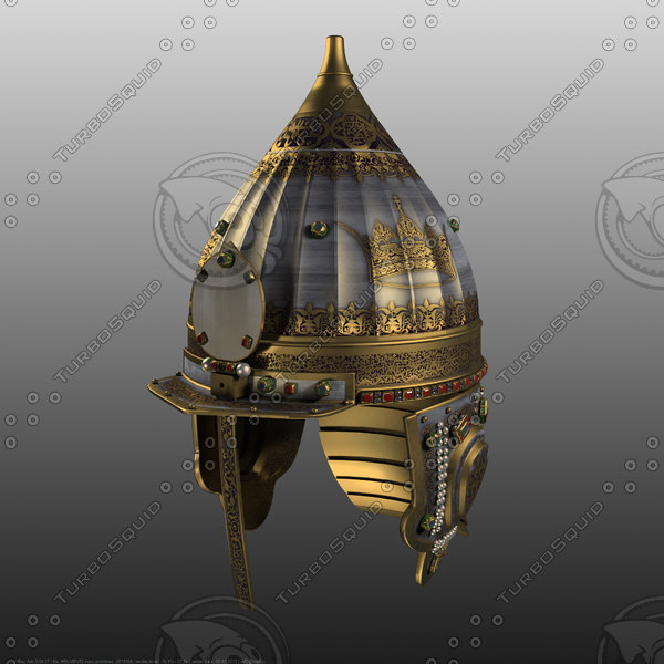 3d model alexander nevsky helmet