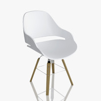 zanotta chair eva 2266 3d obj