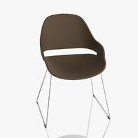 3d model zanotta chair eva