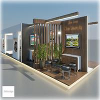 exhibition 106 3d model