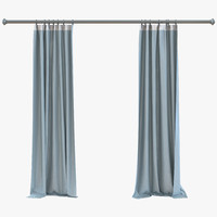 3ds curtain 5 blue