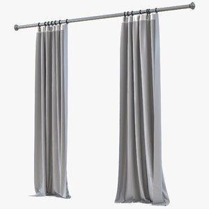 curtain 5 gray max