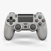 sony playstation 4 controller 3d max