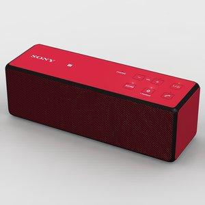 sony srs-x33 red bluetooth 3d ma