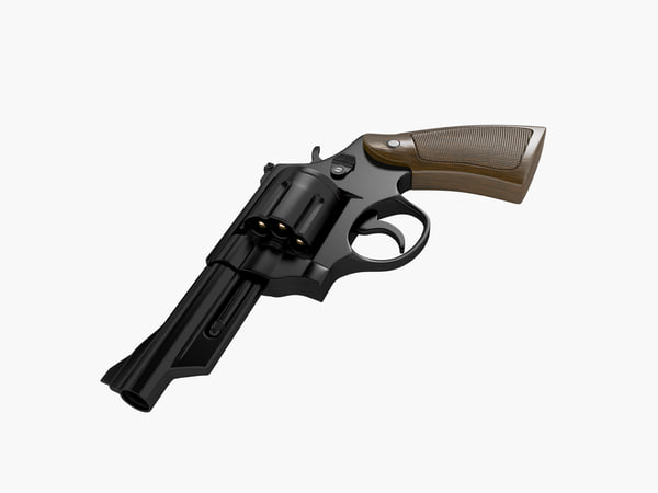 3d model smith wesson -