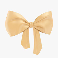 Beige bow 02
