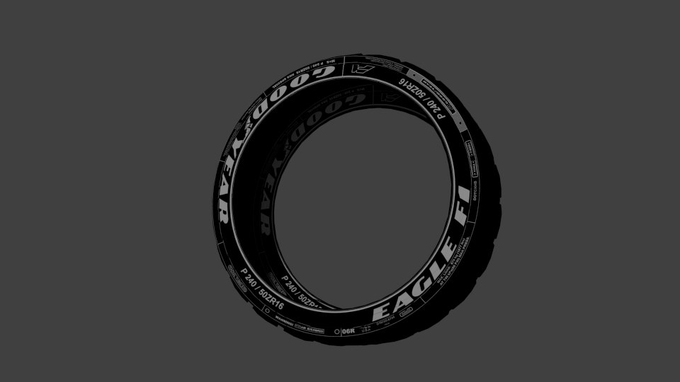 good year tyre 3d model