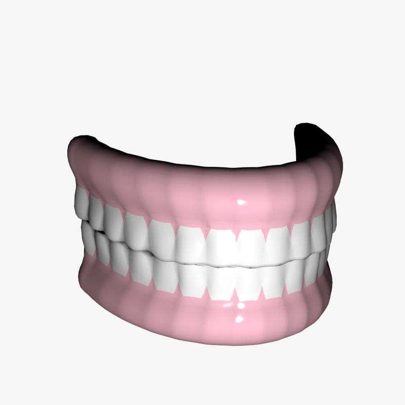 teeth lightwave 3ds