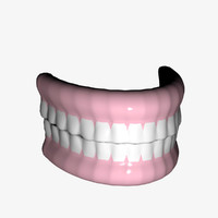 teeth lightwave 3ds