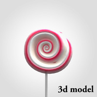3ds max lollipop candy