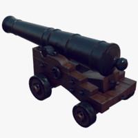 max cannon pirate ship