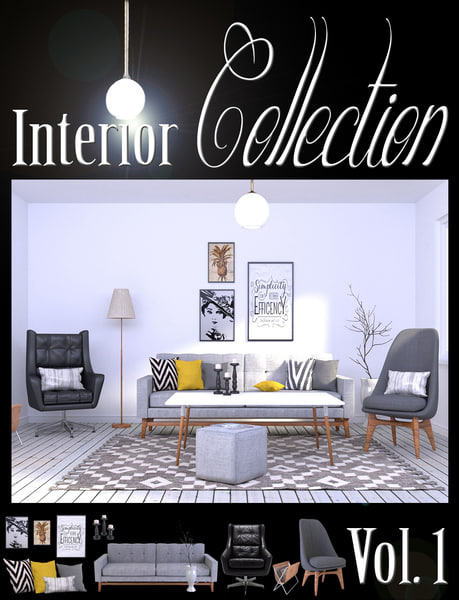 interior vol 1 3d obj