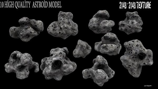astroid 1 3d obj