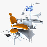 dentist chair 3d model