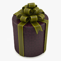 3d 3ds gift box