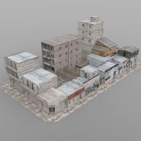 Shanty Town Buildings 2: City Blocks