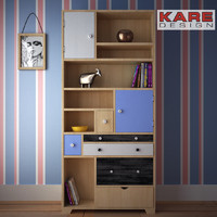 3d model shelf babalou kare design
