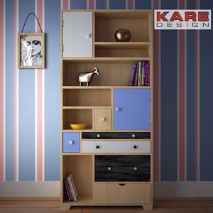 3d model shelf babalou kare design