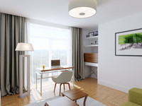 3ds max home office interior