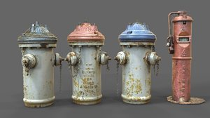 firefighting hydrant 3d 3ds