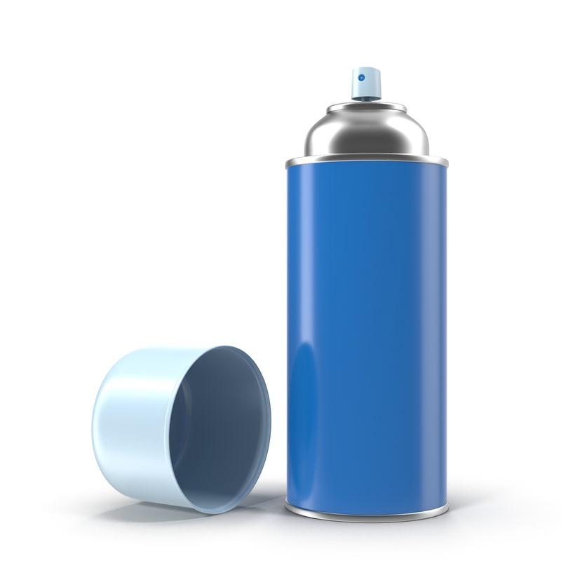 3d model of spray