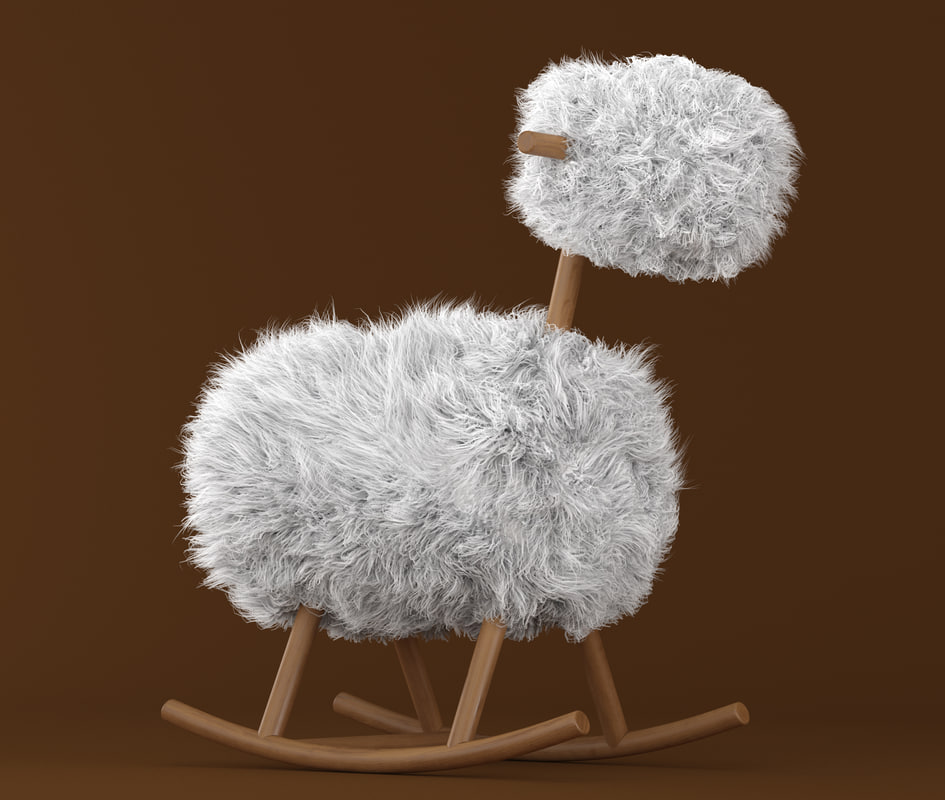 3d sheep model