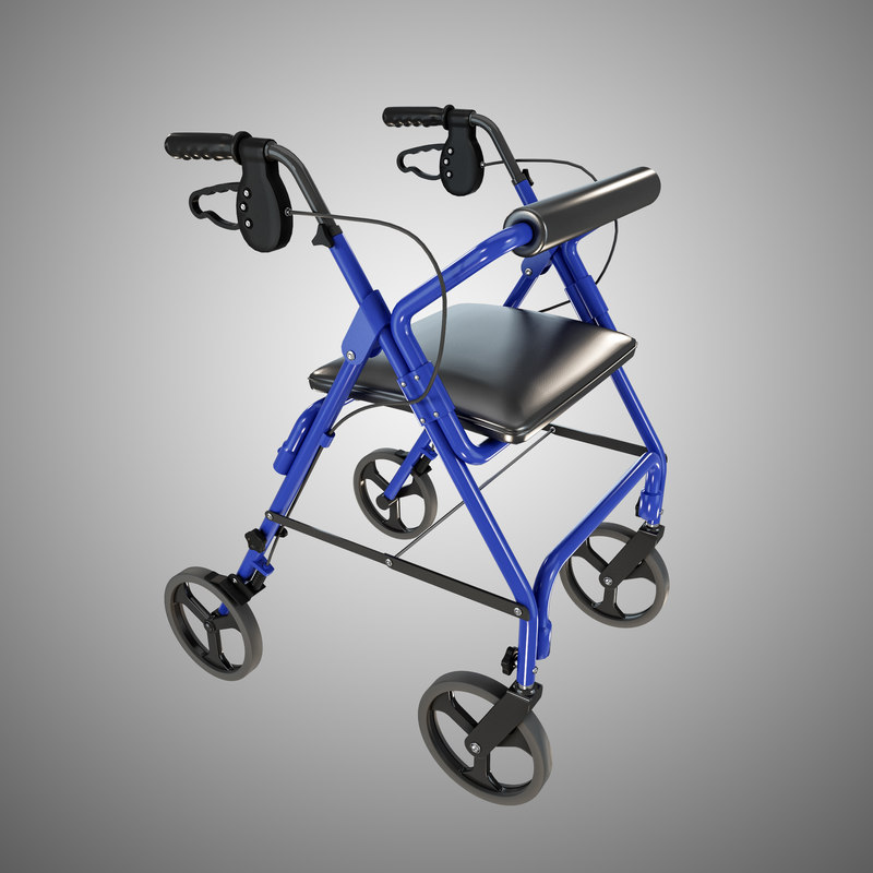 walking device 3d model