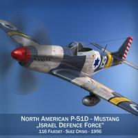 c4d north american p-51d -