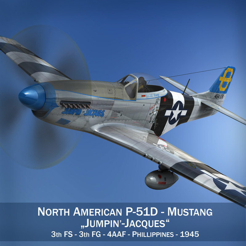3d north american - jumpin model