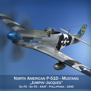 3d north american - jumpin model