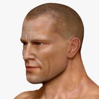 3d human male man model