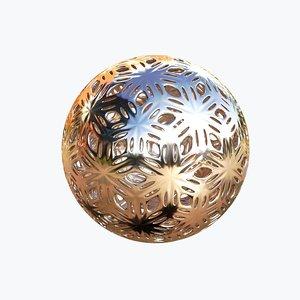 christmas ball 3d model