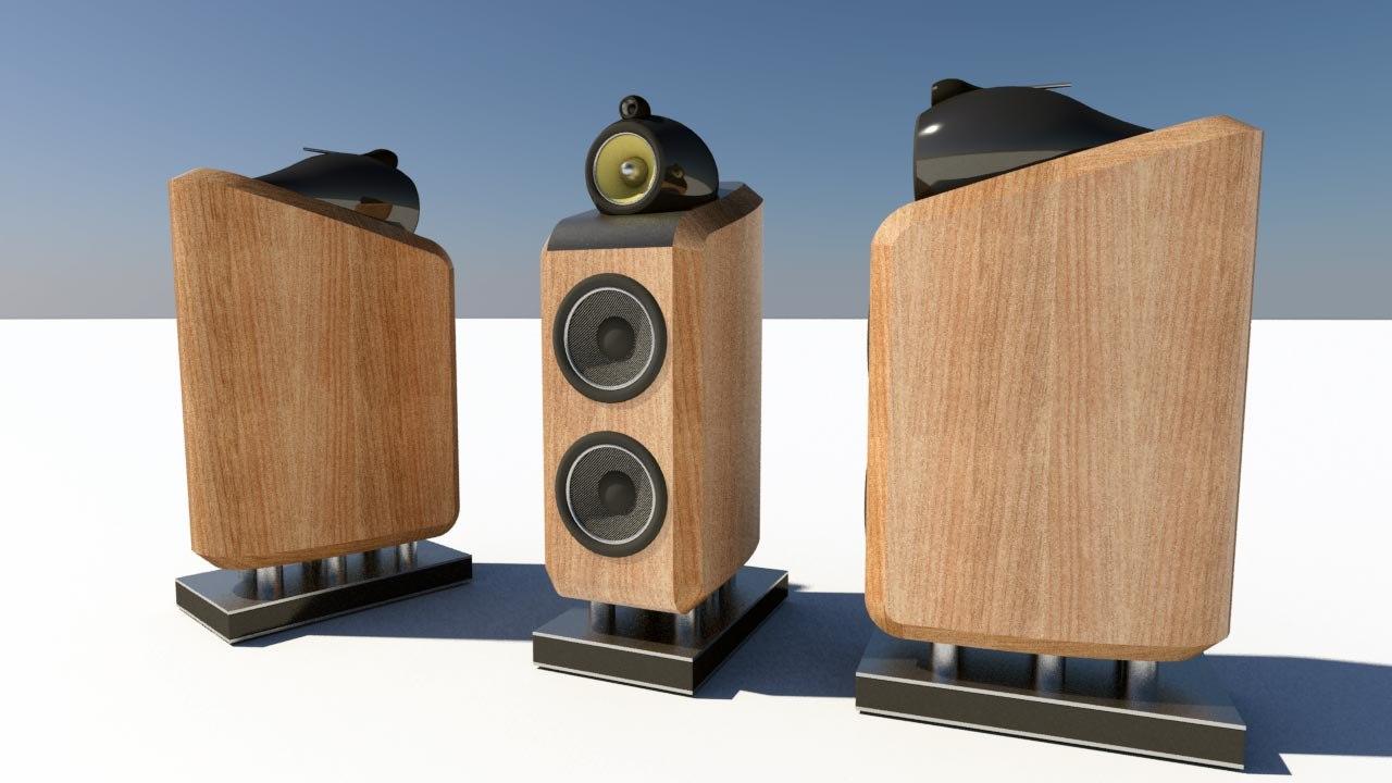 3d bowers speaker
