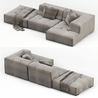 3d model sofa modelled