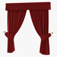 Curtain 4 Red