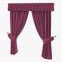 3ds max curtain 4 violet