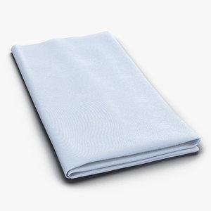 3d napkin 2 white