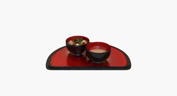 japanese new year 3d obj
