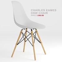 charles eames dsw 3d model