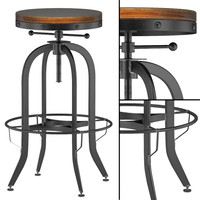 max industrial vintage bar stool