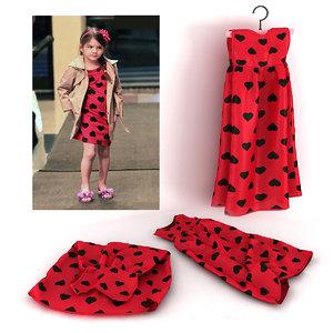 fashion child dressed 3d model