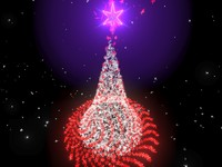 3d christmas animation