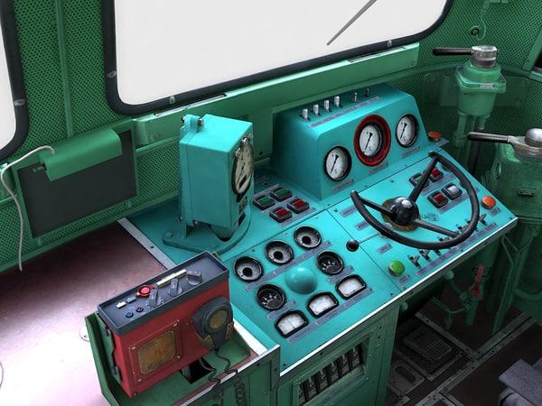 st44 cabin 3d model