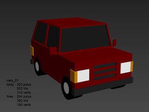 pro blocky car pack 3d x