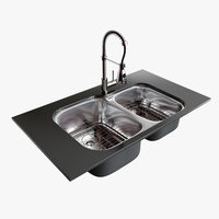 Kitchen Sink 3D Models for Download | TurboSquid