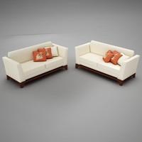 living room files 3d max